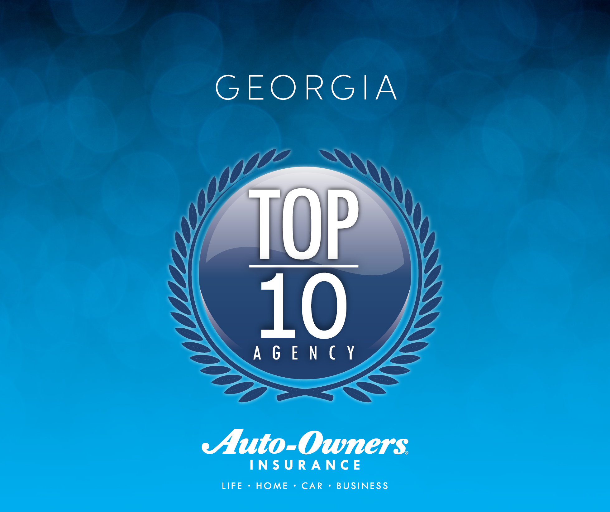 Norton Named Georgia Top 10 Agency for Auto-Owners Insurance